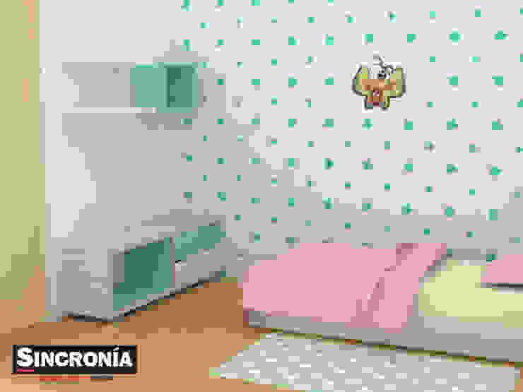 Modern Kid's Room by Sincronía Arquitectura y Diseño Modern
