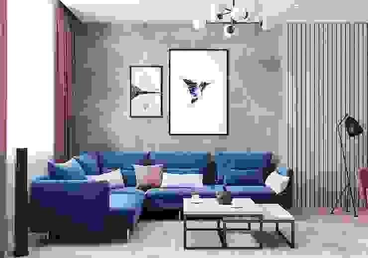 Modern living room by CUBE INTERIOR Modern