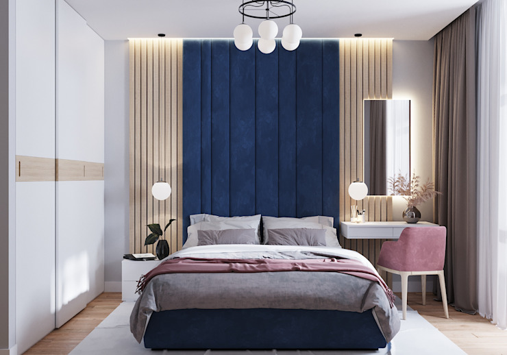Modern style bedroom by CUBE INTERIOR Modern