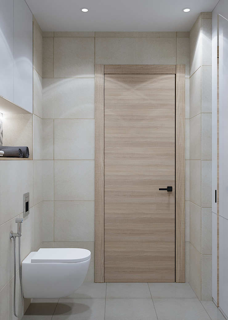 Modern style bathrooms by CUBE INTERIOR Modern