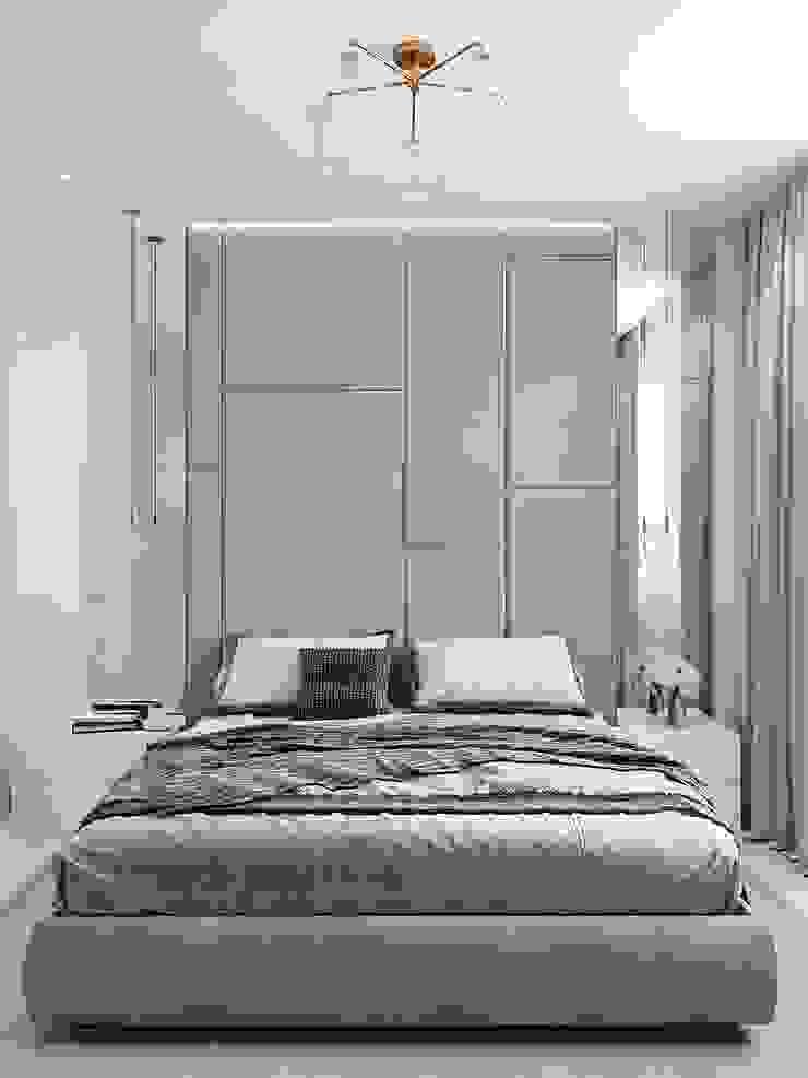 Scandinavian style bedroom by CUBE INTERIOR Scandinavian