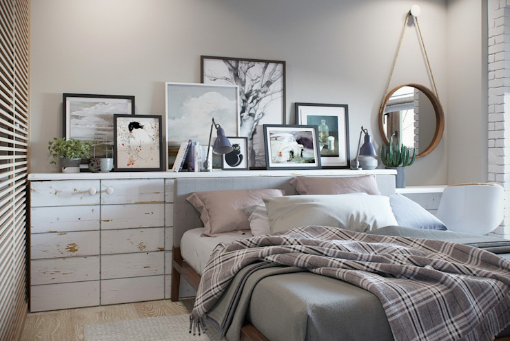 Country style bedroom by Barkod Interior Design Country