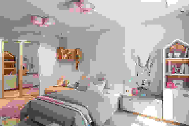 Kamar Bayi/Anak Modern Oleh Barkod Interior Design Modern