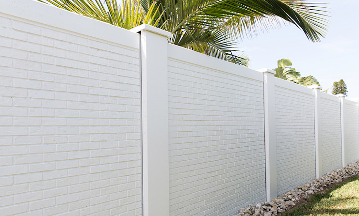 Quality Vibracrete walls by Fever Tree Fencing Cape Town