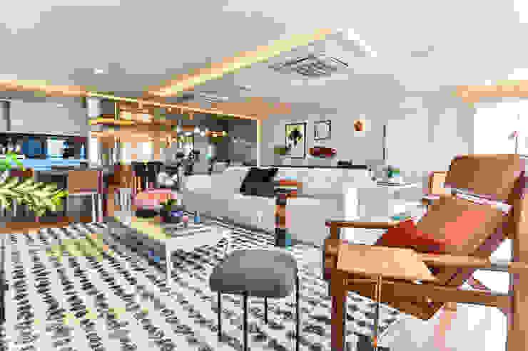 Bloom Arquitetura e Design Living roomAccessories & decoration Multicolored