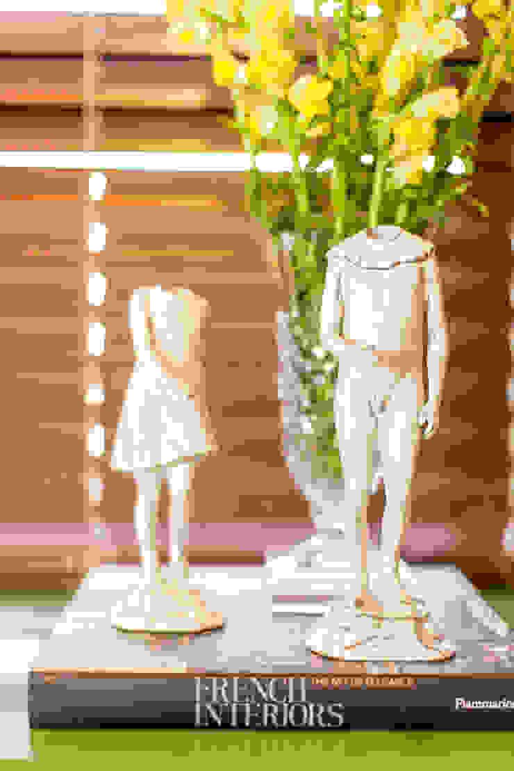 Bloom Arquitetura e Design ArtworkSculptures White