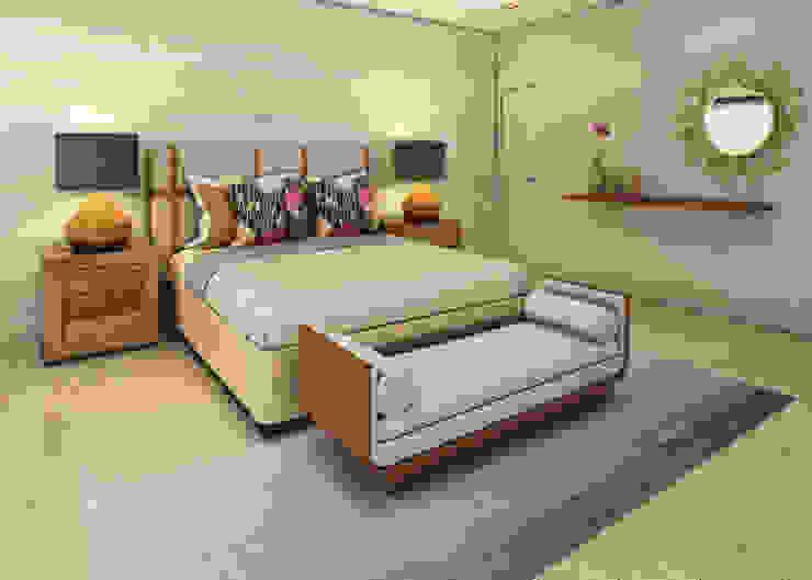 Casa de Campo Dormitorios de estilo moderno de Luis Escobar Interiorismo Moderno