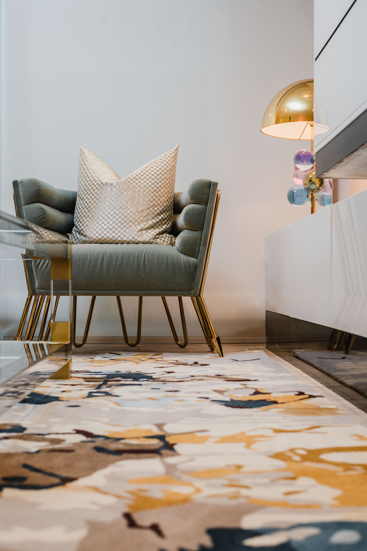 Salas de estilo moderno de Luis Escobar Interiorismo Moderno