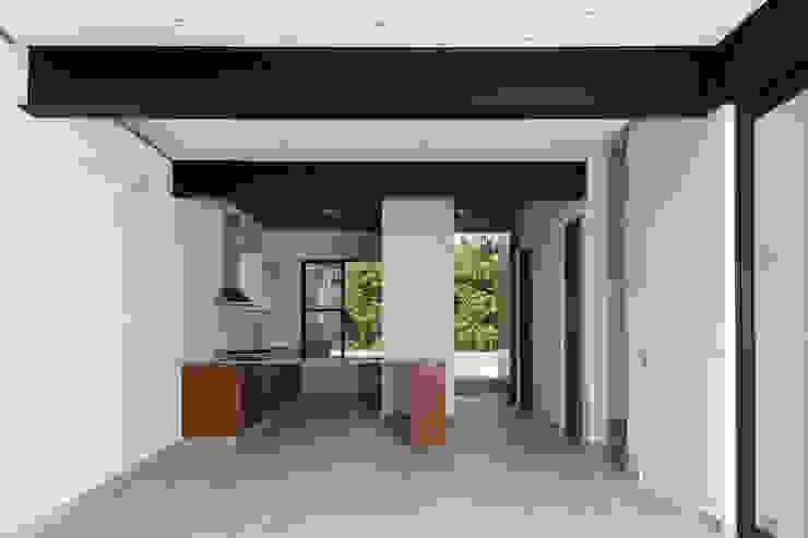cocina Daniel Cota Arquitectura | Despacho de arquitectos | Cancún Cocinas equipadas Madera Acabado en madera