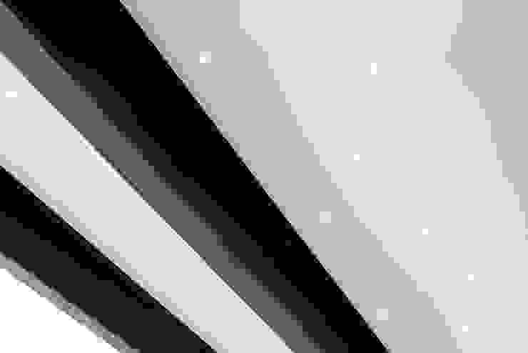 detalles de iluminacion Daniel Cota Arquitectura | Despacho de arquitectos | Cancún Comedores modernos Hierro/Acero Blanco