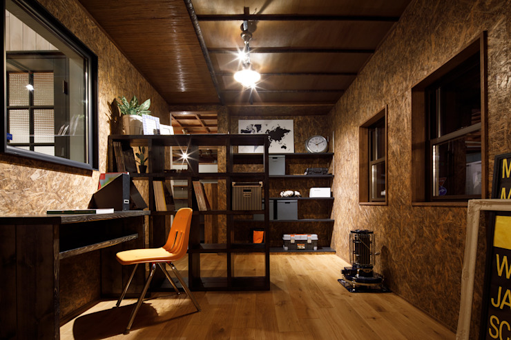 Eclectic style study/office by dwarf Eclectic