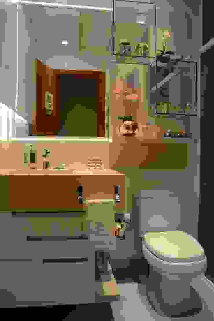 Casas de banho modernas por Graça Brenner Arquitetura e Interiores Moderno MDF