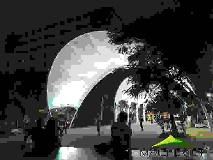 Mái che trường đại học Thăng Long – Hà Nội bởi Công ty TNHH Havico Việt Nam Hiện đại