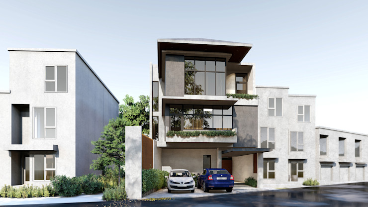 Residential Development by Studio Each Modern