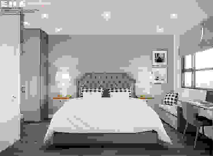 Phòng ngủ bởi EKE Interior
