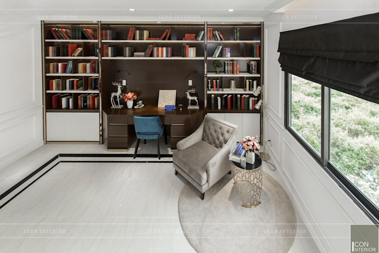 Study/office by ICON INTERIOR, Classic