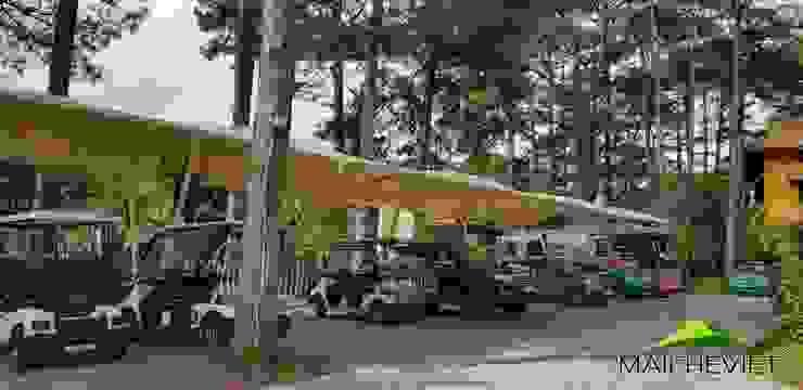 Mái che tại Ana Mandara Đà Lạt Nhà để xe/ nhà kho phong cách kinh điển bởi Công ty TNHH Havico Việt Nam Kinh điển