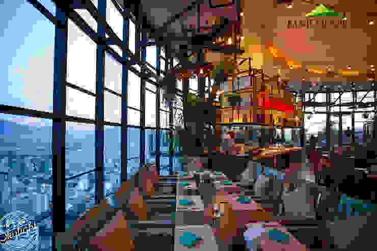 Mái che quán bar Skylight Nha Trang Hầm rượu phong cách hiện đại bởi Công ty TNHH Havico Việt Nam Hiện đại