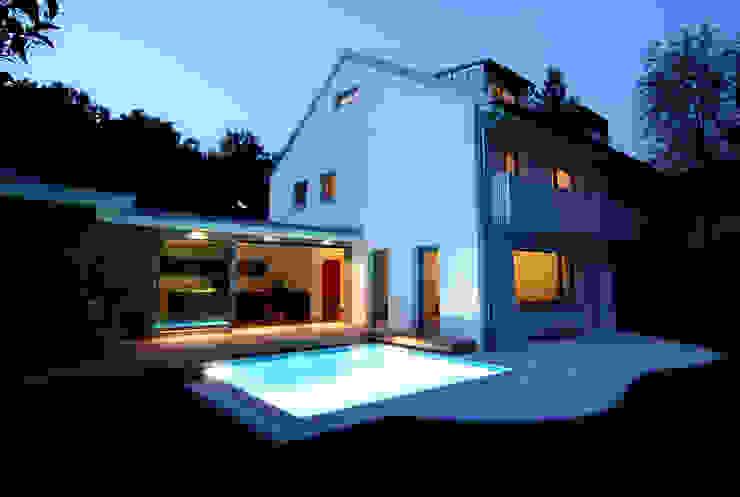 DH am Westpark München:  Häuser von WSM ARCHITEKTEN,Modern