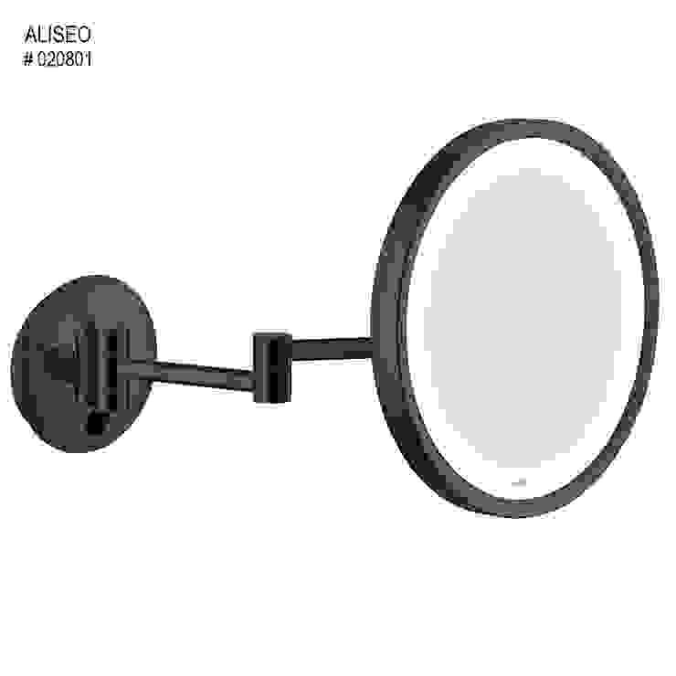 Glasservice König BañosEspejos Negro