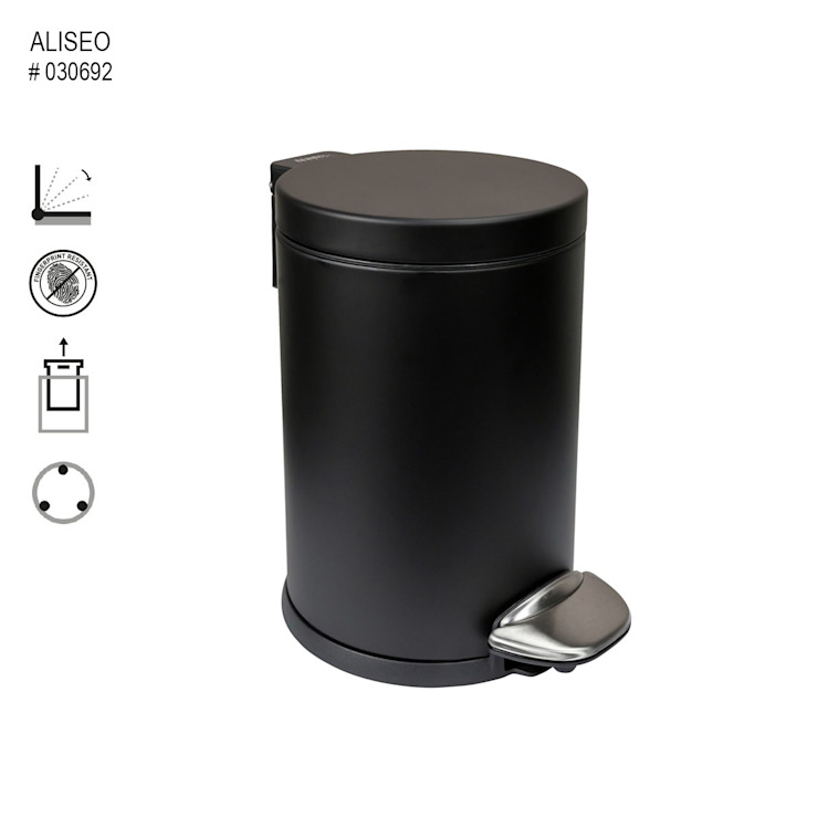 Glasservice König BathroomStorage Black