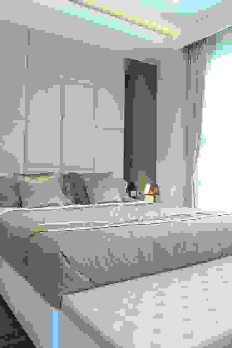 ミニマルスタイルの 寝室 の POWL Studio ミニマル