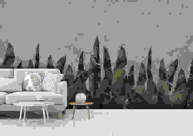 Pareti & Pavimenti in stile tropicale di homify Tropicale