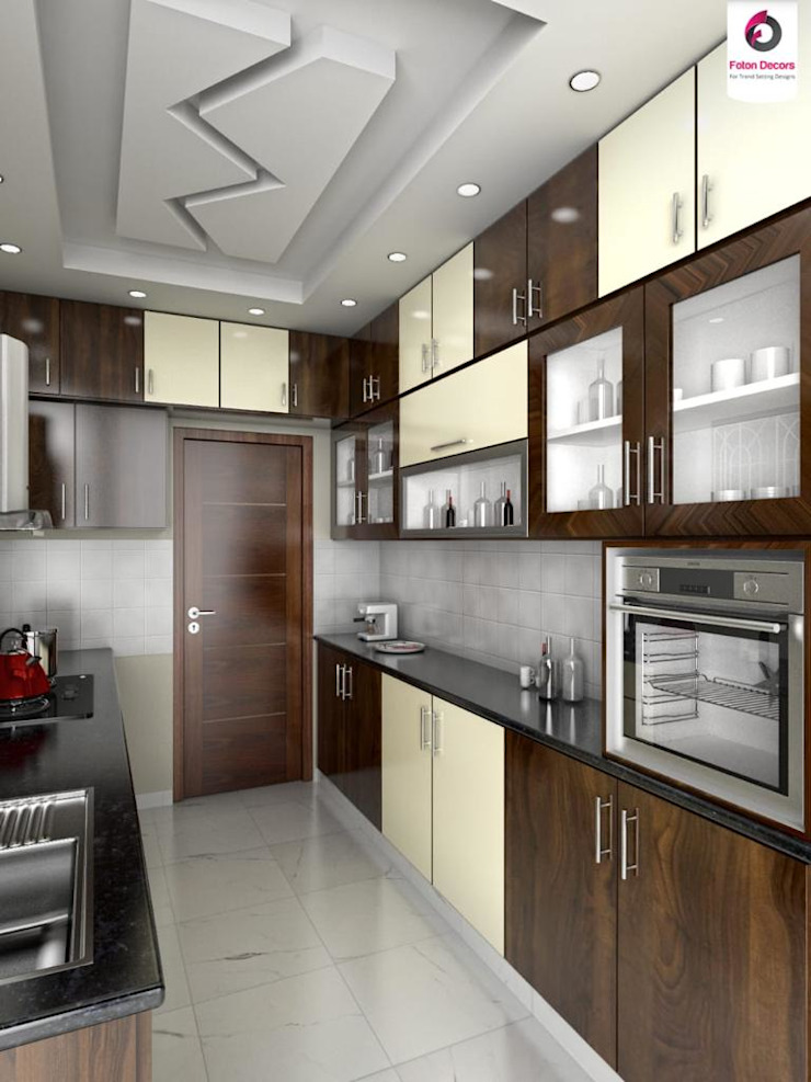residential Projects Classic style kitchen by Maruthi Interio Classic