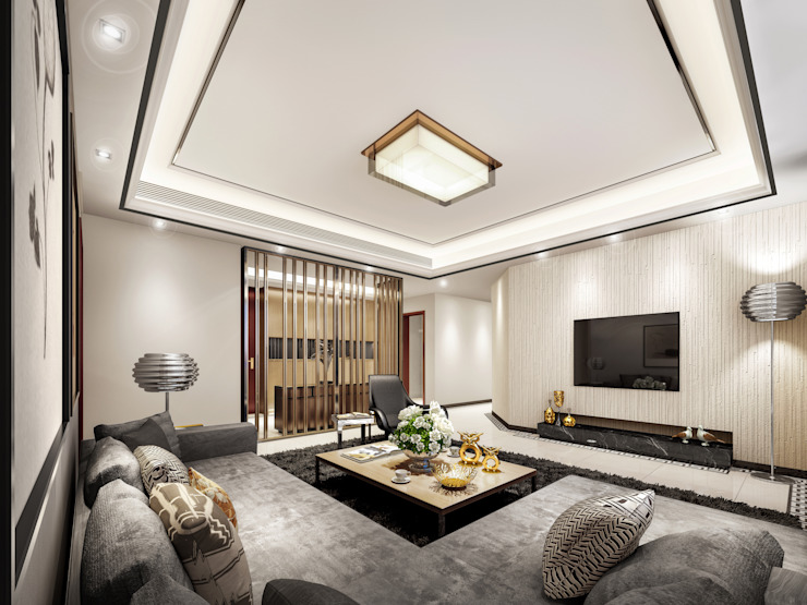 Luxury Solutions Modern living room Beige