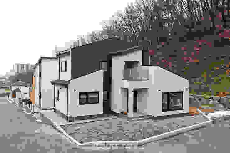 Projekty,  Domy zaprojektowane przez 하우스톡,