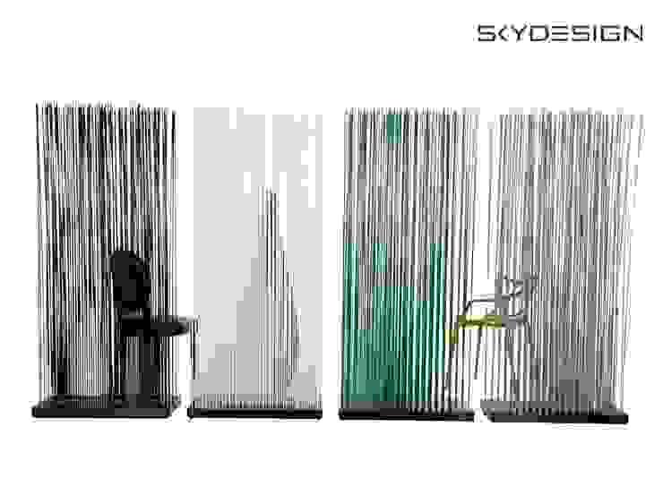 غرفة السفرة تنفيذ www.skydesign.news - Raumteiler aus Berlin - Sichtschutz Terrasse