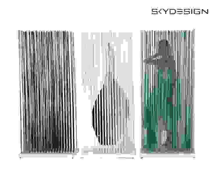 فن تشكيلي تنفيذ www.skydesign.news - Raumteiler aus Berlin - Sichtschutz Terrasse