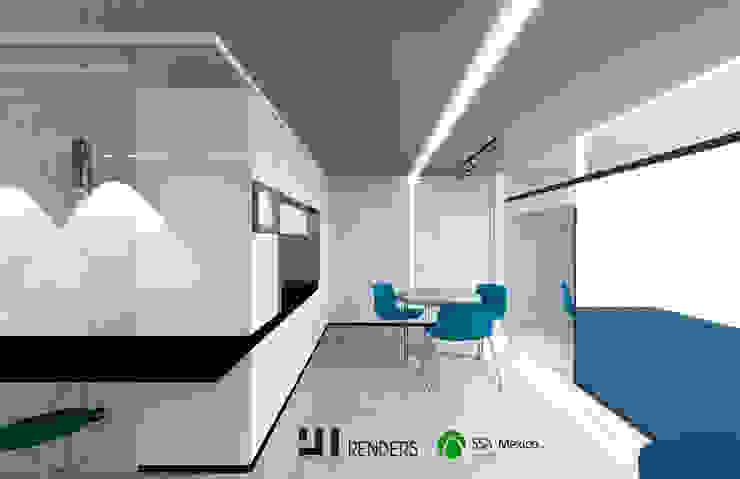 Vista general: Oficinas y tiendas de estilo  por Prototype studio,