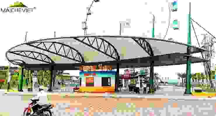 Mái che quầy vé khu vui chơi tại Phú Cường – TP. Rạch Giá – Kiên Giang bởi Công ty TNHH Havico Việt Nam