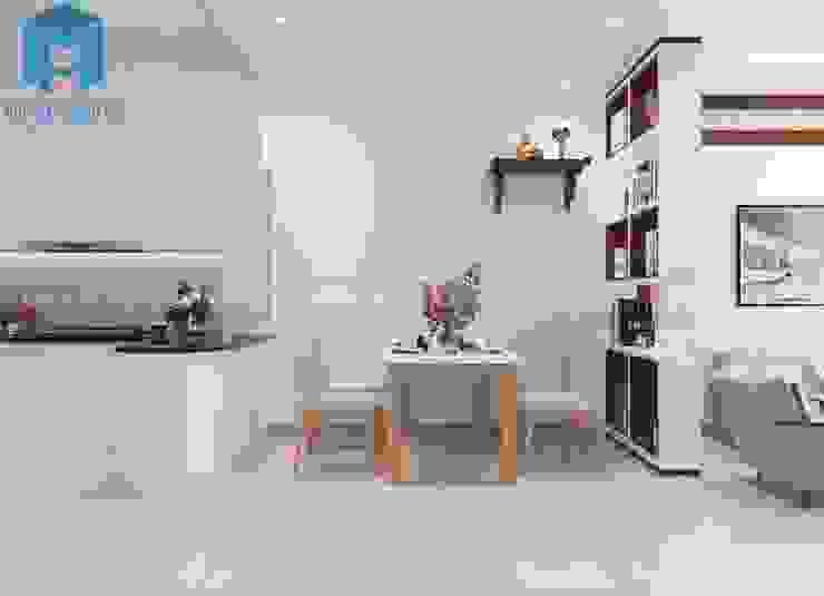 bộ bàn ăn phòng bếp Phòng ăn phong cách hiện đại bởi Công ty TNHH Nội Thất Mạnh Hệ Hiện đại