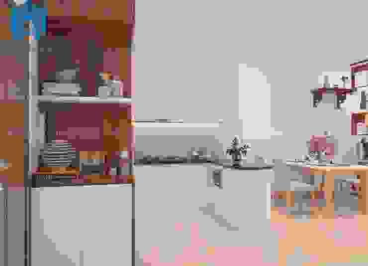 không gian phòng bếp Phòng ăn phong cách hiện đại bởi Công ty TNHH Nội Thất Mạnh Hệ Hiện đại