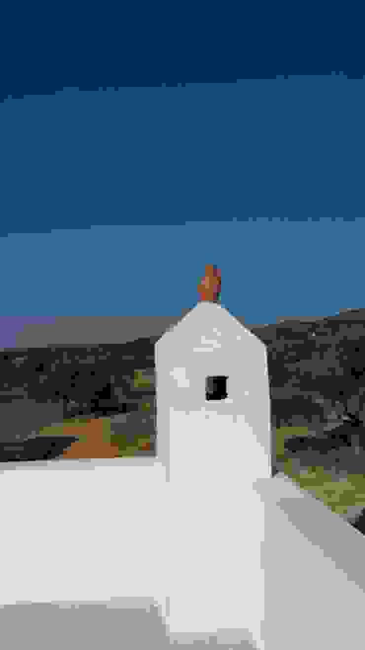 Yazlık ev-Kıbrıs Yenierenköy-Trias Homes Akdeniz Evler Benid Mimarlık Bürosu Akdeniz