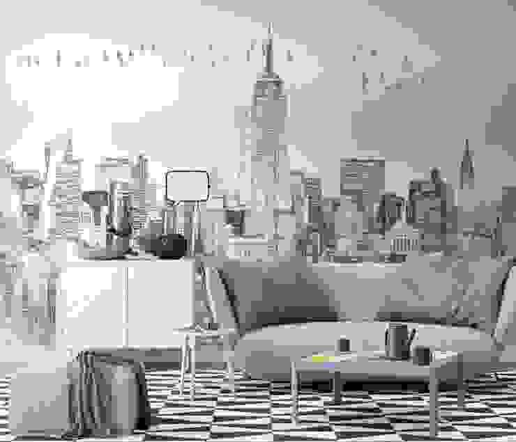 Pareti & Pavimenti in stile minimalista di homify Minimalista