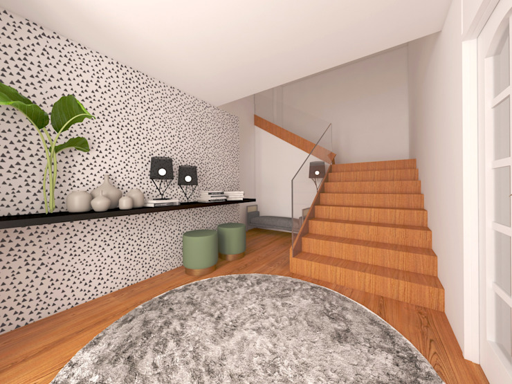 Habitação, Ponte de Lima por MIA arquitetos Minimalista