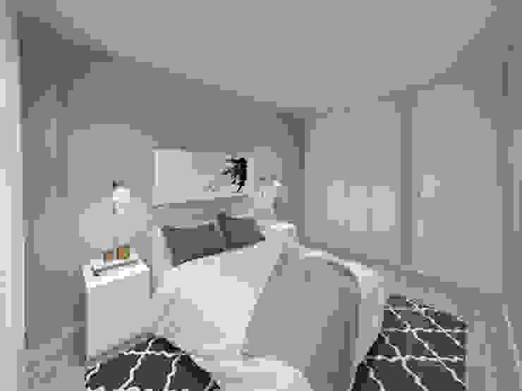 Apartamento, Antas - Porto por MIA arquitetos Moderno MDF