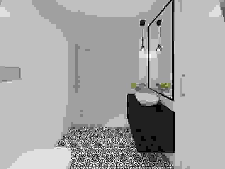 Apartamento, Antas - Porto Casas de banho modernas por MIA arquitetos Moderno Cerâmica