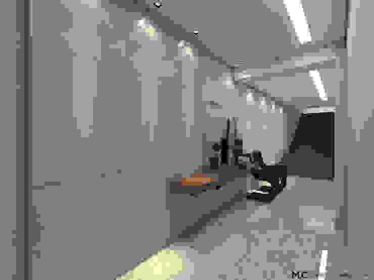 PORTARIA ED. RESIDENCIAL Corredores, halls e escadas modernos por Maria Laura Coelho Moderno