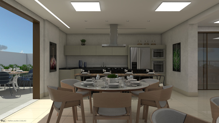 Modern style kitchen by Maria Laura Coelho Modern