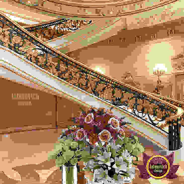 Extreme Luxurious Hall Interior Design by Luxury Antonovich Design
