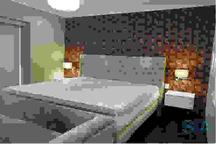 Dormitorio Principal:  de estilo  por Soluciones Técnicas y de Arquitectura , Moderno Goma