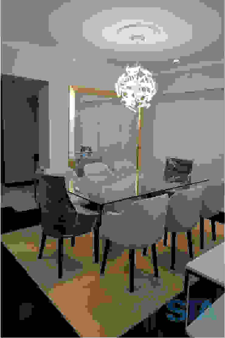 Salas de jantar modernas por Soluciones Técnicas y de Arquitectura Moderno Alumínio/Zinco