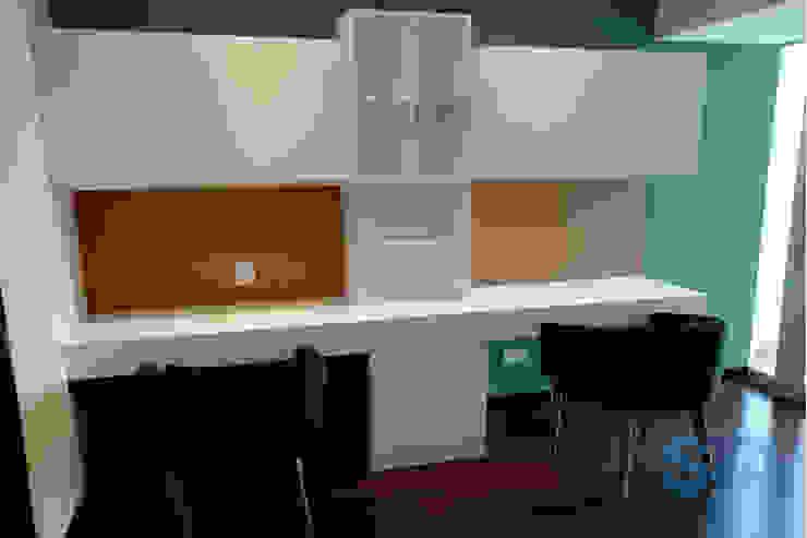 Modern study/office by Soluciones Técnicas y de Arquitectura Modern Chipboard