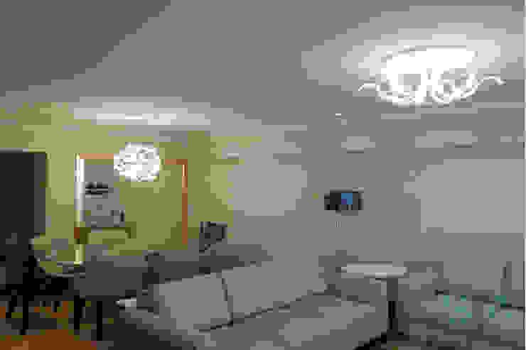 Sala:  de estilo  por Soluciones Técnicas y de Arquitectura , Moderno