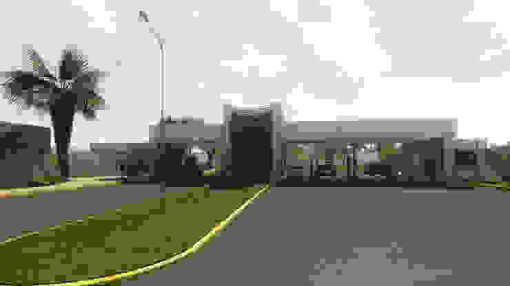 Render Proyecto Casas modernas: Ideas, diseños y decoración de Gustavo Avila, arquitecto Moderno Piedra