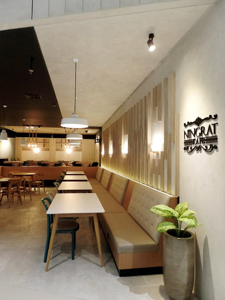 Cafe Gastronomi Modern Oleh PT. INTEREKA BANGUN Modern